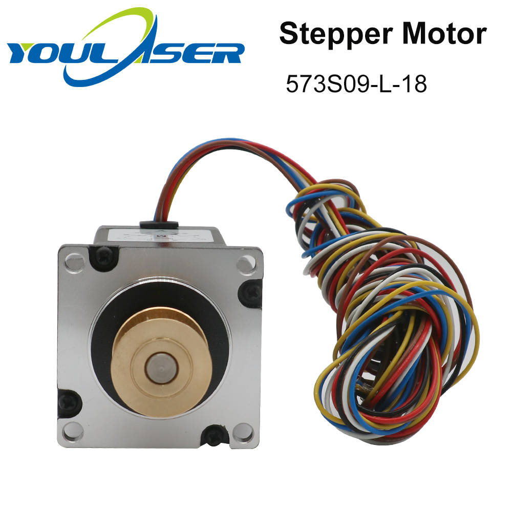 H263600b3771044f682b21988dfd77d52u - YOULASER Leadshine 3 Phase Stepper Motor 573S09-L-18 for NEMA23 3.5A Length 50mm Shaft 6.35mm