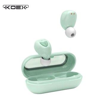 KOEX bluetooth 5.0 wireless earphone gamer earbuds suitable wireless Earpieces For xiaomi huawei iphone true wireless earbuds