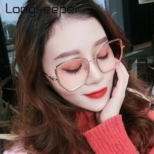 Luxury Polygonal Oversized Sunglasses Women Fashion Big Frame Sun Glasses Metal Gradient Eyewear Oculos De Sol Feminino UV400