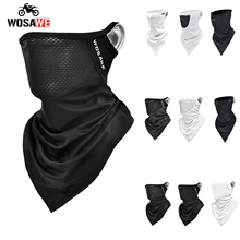 WOSAWE Motorcycle Mask Mountains road Bicycle Bandana Mask Motobike Full Cover Shield Moto mask Balaclava Triangle scarf