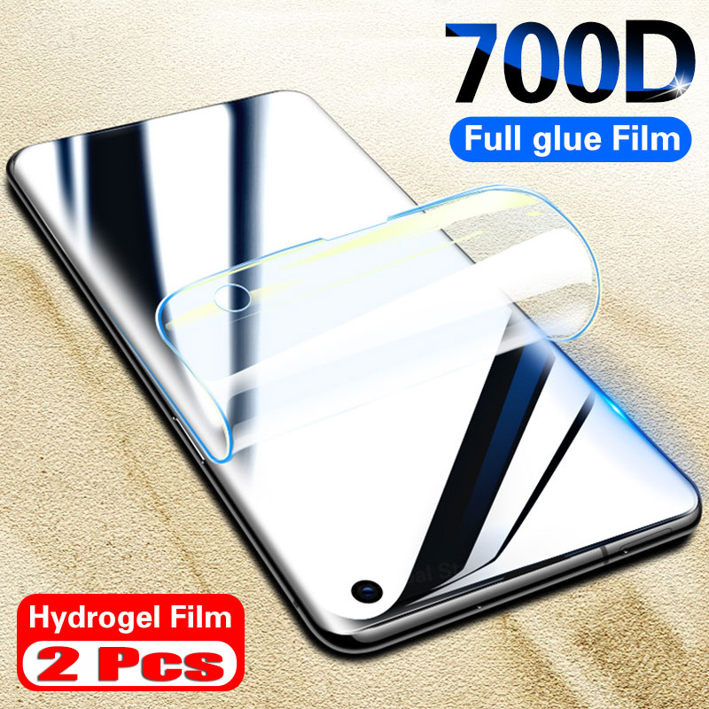 Screen Protector Not Glass 2Pcs For Samsung Galaxy S10 S9 S8 S20 Plus Ultra Full Cover Film For Samsung Note 10 9 8 HydroFilm