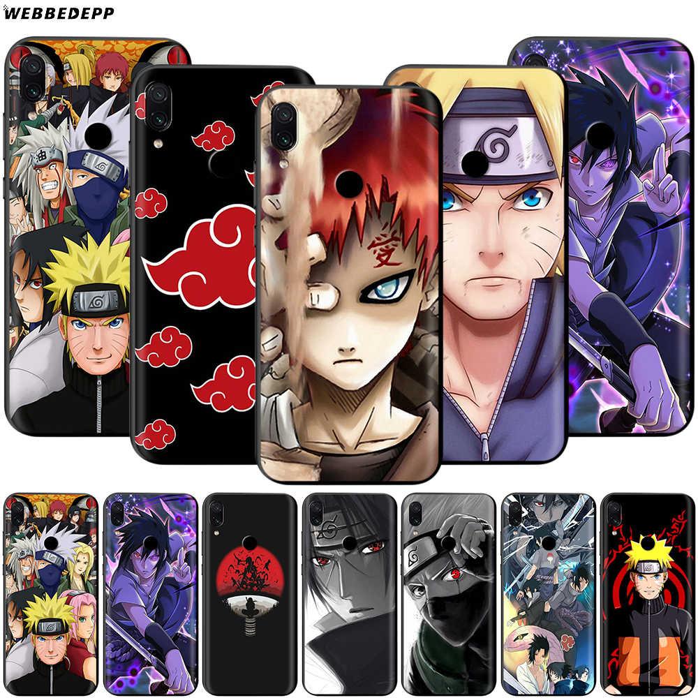 Hokage Naruto Kakashi per il Caso di Xiaomi Redmi Nota 8 MI 3 6 8 9 A1 A2 A3 8A 6X 9T CC9 Lite SE Pro Max F1 10