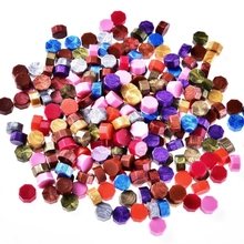 Vintage Octagon Sealing Wax Tablet Pill Beads For Wedding Invitation Envelopes Wax Seal Sticks Ancient Sealing Waxs H1 x