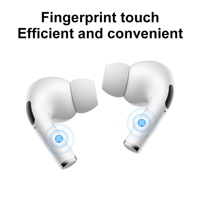 Airpodding pro Bluetooth Earphone Wireless Earbuds Noise Reduction Headphone with mic Sport Headset for Android IOS Smart Phone 2