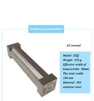 Preparação de quatro lados do aplicador de szq único-face aplicador de quatro lados aplicador de preparação de filme molhado