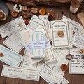 Ретро старая бумажная дорожная этикетка цилиндрический журнал карфт бумажный блокнот для заметок клейкая бумага для заметок блокнот для з...