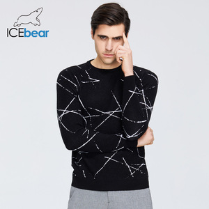 ICEbear 2020 New Men's Sweater High Quality Male Apparel Autumn Men's Brand Clothing 1821(China)