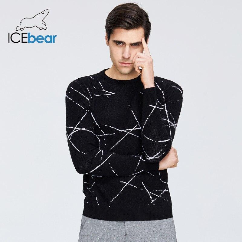 Icebear 2020 nova camisola masculina de alta qualidade vestuário masculino outono roupas de marca masculina 1821