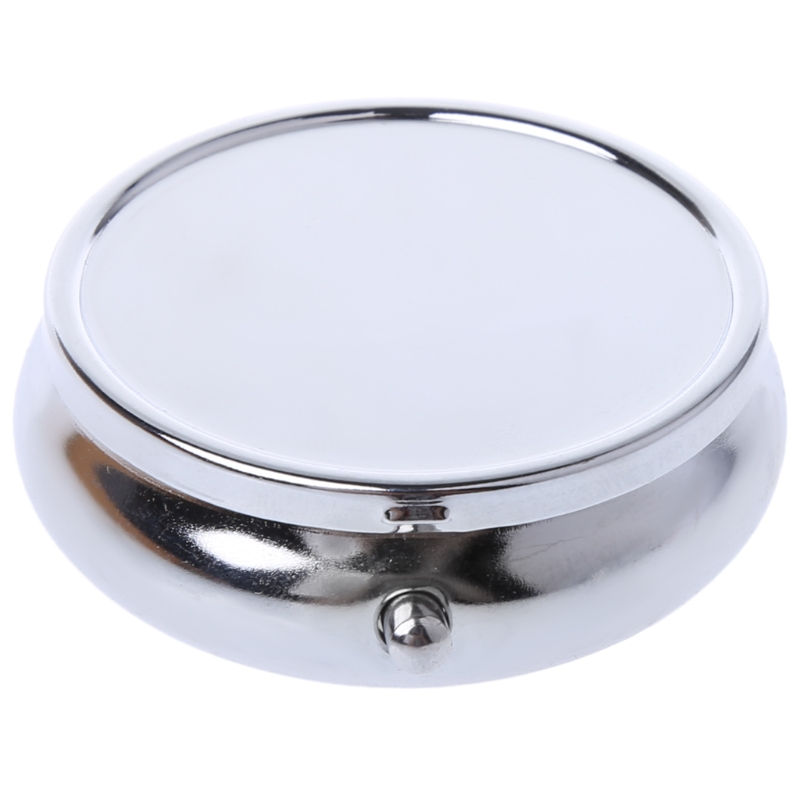 1PC Pillbox Medicine Container Key Chain Tablet Storage Case Key Ring Pill