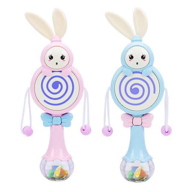 Infants Rattle Toy Educational-Bite With Music Rattle Baby GIRL'S And BOY'S 1-Year-Old