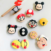 Wholesale Cartoon Universal Mobile Phone Ring Holder Airbag Gasbag Fold Stand Bracket for IPhone X XR Samsung Huawei Xiaomi