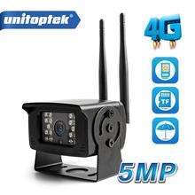 מיני 1080P 5MP 4G כרטיס ה SIM מצלמה חיצוני תמיכת מקסימום 128G מיקרו TF כרטיס אחסון IR 20M CCTV מעקב מצלמות P2P צפה