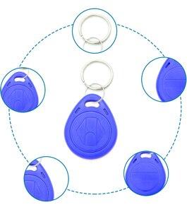 Image 4 - 100pcs em4305 t5577 Copy Rewritable Writable Rewrite Duplicate RFID Tag Proximity ID Token Key Keyfobs Ring 125Khz Blank Access