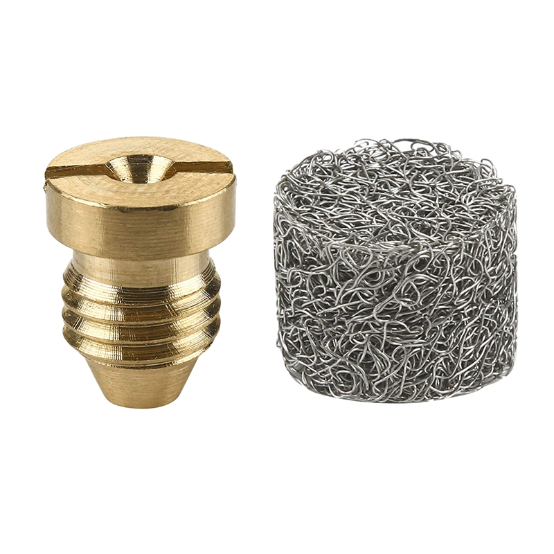 Foam Cannon Orifice Nozzle Tips And Foam Maker, Universal 1.1 Mm Thread Nozzle And Mesh Filter For Snow Foam Lance, 3000 Psi