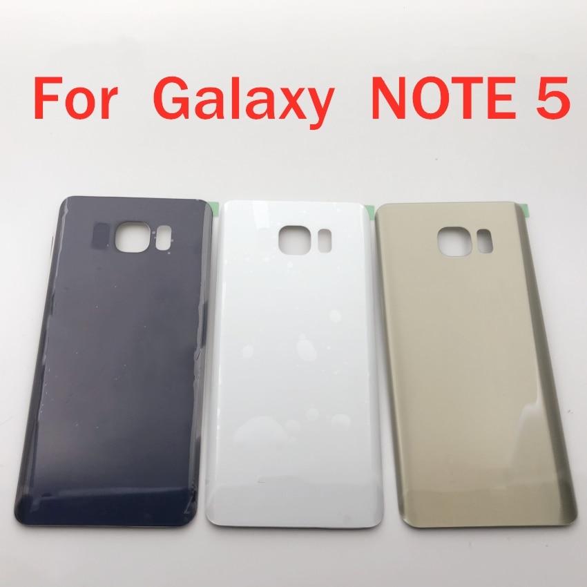 Новый задний корпус, стеклянный чехол для Samsung Galaxy Note 5 N920 N920F SM-N920FD, задняя крышка для батареи, задняя крышка для note 5