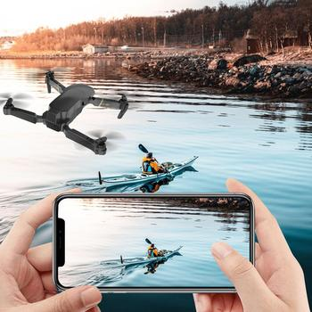 Global Drone GD89 4CH RC HD Camera Video FPV One Key Return RC Drone Quadcopter Toy RC Airplane Boys