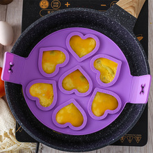 New Egg Cooker Pancake Maker Mold Egg Shaper Omelette Nonstick Cooking Tool Pan Flip Eggs Ring Mold Kitchen Gadgets Accessories недорого