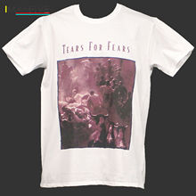TEARS FOR FEARS ROCK T-SHIRT simple minds ultravox man at work S-3XL Newest 2019 Fashion Stranger Things T Shirt Men Retro
