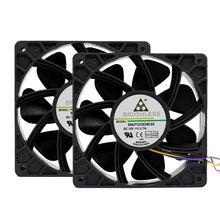 2x6000rpm substituição do ventilador de refrigeração conector de 4 pinos para antminer bitmain s7 s9 ventilador de refrigeração do radiador