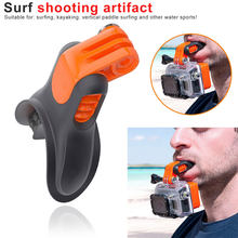 Action Camera Teeth Braces Holder Mouth Mount for GoPro Hero Xiaomi Yi SJCAM Surfing Diving Shoot Camera Accessories(China)