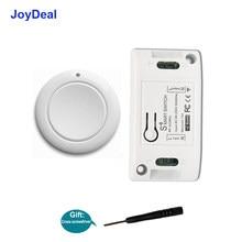 JoyDeal – interrupteur sans fil pour lampe de plafond, 433 MHz, télécommande RF, AC 110/220V, récepteur, bouton poussoir, pour chambre à coucher