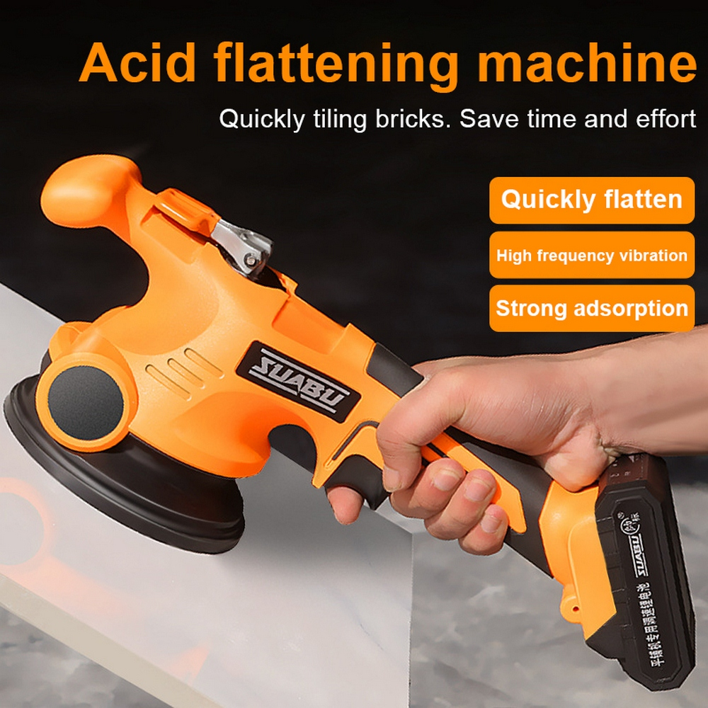 EASY-Lithium Battery Wireless Tile Leveling Machine Tile Floor Portable Power Tool Wall Tile Vibration Leveling Pressure Tool