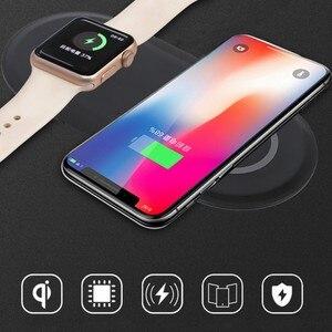 Image 3 - ワイヤレス充電パッドusbクイック携帯電話腕時計ドックチーワイヤレス充電器iphone 11 x xs時計iwacthサムスンxiaomi