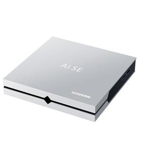 4k VP9 Android TV Box SCISHION AI SE Android 8.1 RK3399 TV Box 4GB 64GB For GoogleTV Remote HDMI2.0 With IR remote control