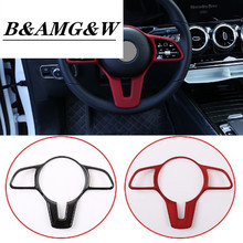 Car Steering Wheel TrimFor Mercedes Benz A B C E G CLA CLS GLC GLE GLS EQC GLB W177 W247 W205 W213 C257 X253 W167 W463 X247 N293