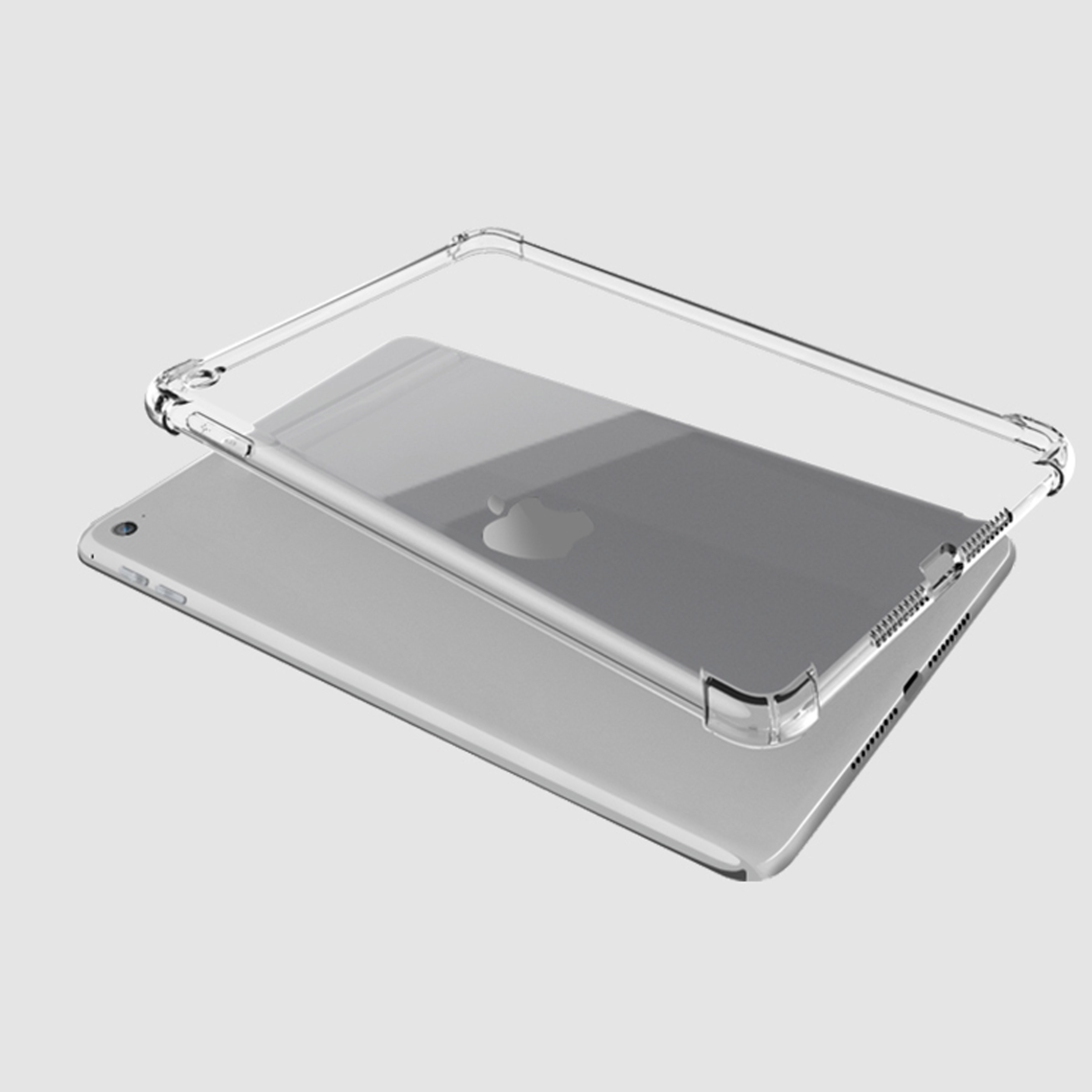 Clear Case for iPad 10 2 case Anti fall soft TPU silicone tablet cover for Apple