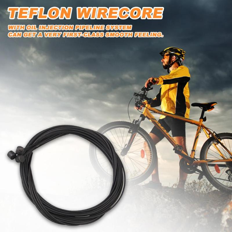 Bicycle Bike Brake Cable with housing universal double end teflon