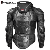 GHOST RACING Motorcycle Jacket Men Full Body Motorcycle Armor Motocross Racing Protective Gear Motorcycle Protection