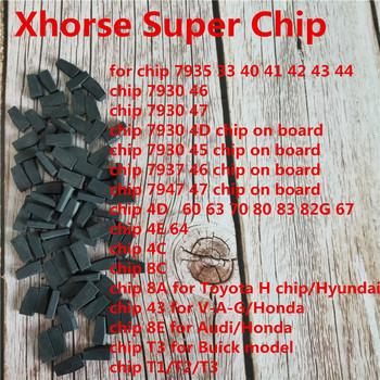 Xhorse VVDI Super transpondera dla ID46 40 43 4D 8C 8A T3 47 41 42 45 ID46 dla VVDI2 narzędzie VVDI mini kluczyk narzędzie tanie i dobre opinie Xhorse Super Chip 15cm Auto key programmer 0 15kg