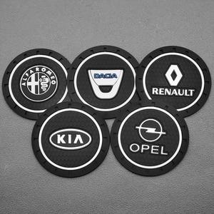 Image 3 - Стайлинг автомобиля ПВХ автомобильный нескользящий коврик для подставки чехол для BMW Audi Toyota Honda Opel Renault Suzuki Mercedes Peugeot Hyundai KIA VW Fiat
