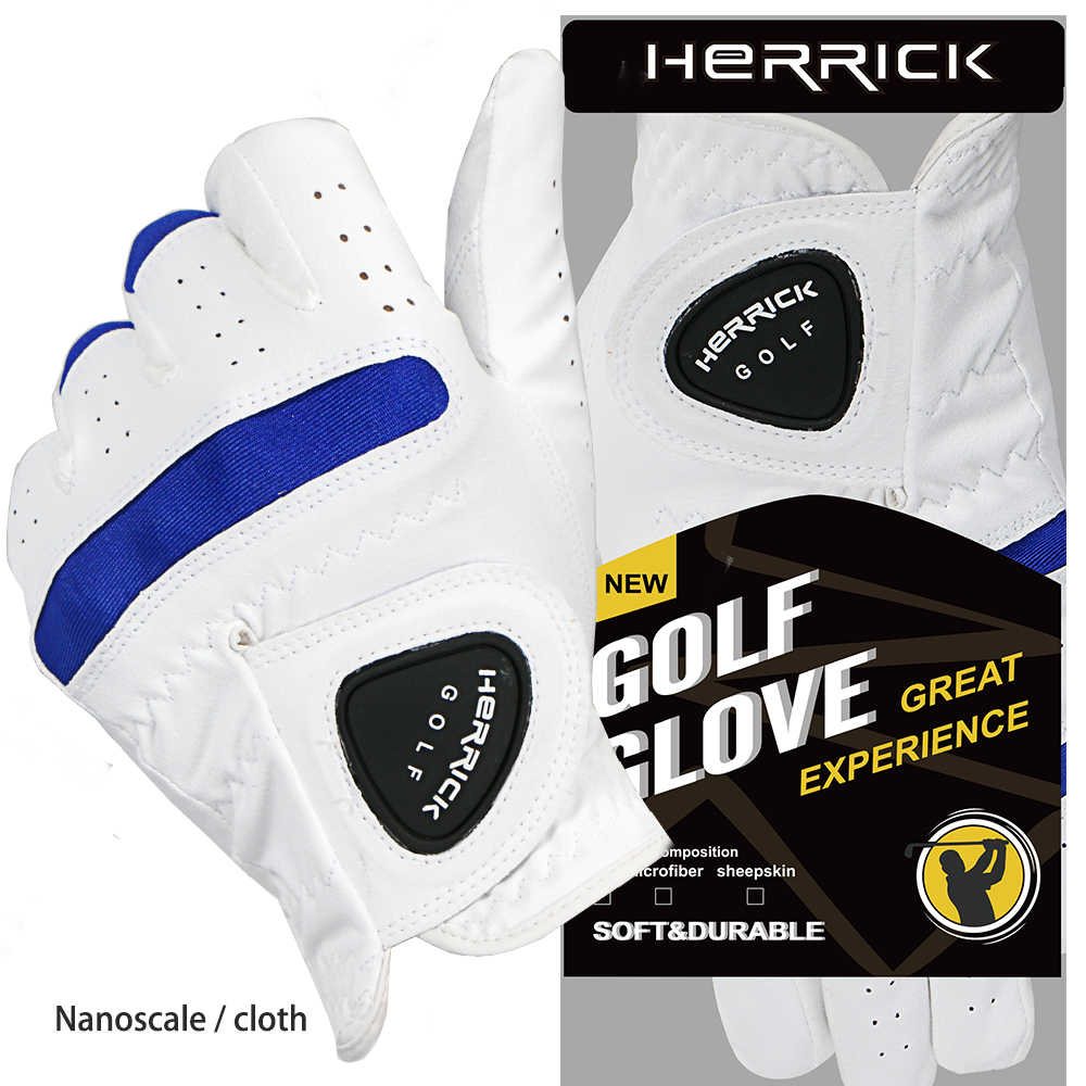 Golf glove left hand soft microfiber cloth suction sweat breathable wear gloves, golf outdoor accessories 2019new free shipping