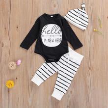 Emmaaby/Одежда для новорожденных мальчиков комбинезон в полоску
