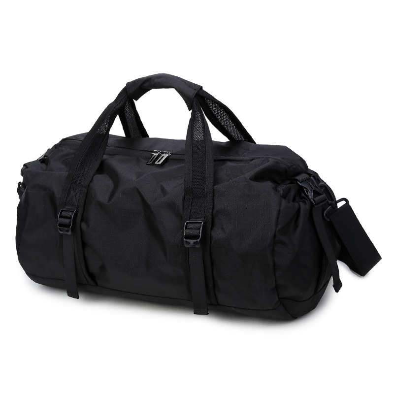 Zebella Travel Bags Black Folding Storage Sports Bag For Gym Men Training Bag Girls Duffel Yog Fitness Bag Women Weekend Bags