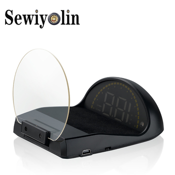 2019 New C700 HUD Head Up Display Auto HUD OBD2 Car Speed Projector KMH MPH Speedometer Car Detector Oil Consumption For BMW F10 vjoycar c500 hd projector head up display digital speedometer car hud obd2 windshield projector stereo imaging 8 display mode 30