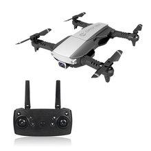 Складной 2,4 ГГц WiFi FPV Дрон 1080P камера RC Дрон в режиме реального времени Трансмиссия самолет игрушка с 2 батареями