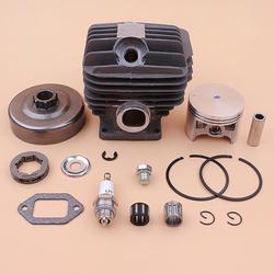 54mm Zylinder Kolben Kupplung Trommel 3/8 7 T Kettenrad Felge Für Stihl MS460 046 Washer E-clip lager Dichtung 1128 020 1221 Kettensäge