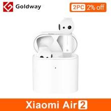 Xiaomi-auriculares Airdots Pro 2 TWS Bluetooth Air 2 Mi, auriculares realmente sin cables, auriculares LHDC con Control táctil y Micrófono Dual, 2 Control de voz inteligente
