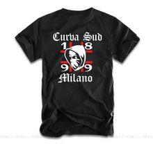 Camisa de t camisa de t camisa de t de curva sud milano