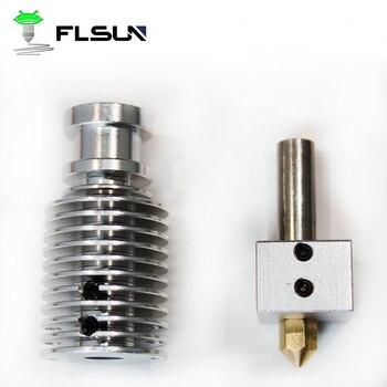FLSUN-impresora móvil Q5 V6 hotend, máquina de impresión con pantalla de 1,75mm...