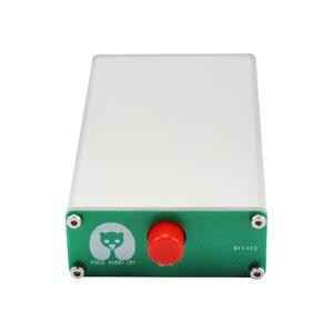 Image 2 - Ghxamp 3.5mm אודיו אות switcher 2 קלט 1 פלט בורר עם אלומיניום מעטפת אוזניות אודיו מתג לוח 1pc