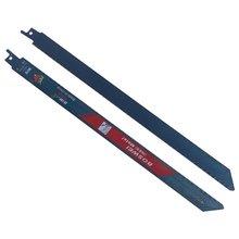 2 шт 300 мм 18tpi bim лезвия для сабельной пилы резки металлических
