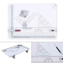 Tablero técnico profesional de la mesa de dibujo A3 con el cabezal de la máquina de dibujo suministros de dibujo UY8