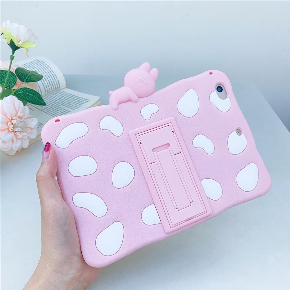 Pro Cute Para-Cover Capa-Case 11inch for iPad Rabbit Silicon Soft Tablet Funda Cartoon