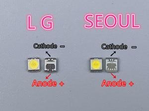 Image 3 - 500 pièces dorigine pour LG Innotek LED rétro éclairé LCD, Application LED, rétroéclairé, 1W, 3V, 1210 2835, blanc frais, LED