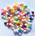 Горячие DIY таблетки смолы бусины для изготовления сережек ювелирных изделий многоцветные 50 шт./лот 5*11,5 мм с половинным отверстием