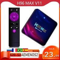H96 Max V11 Smart Tv Box Android 11 4K HD Youtube Google Spielen Wifi Bluetooth Empfänger Media Player Tv set Top Box H96max